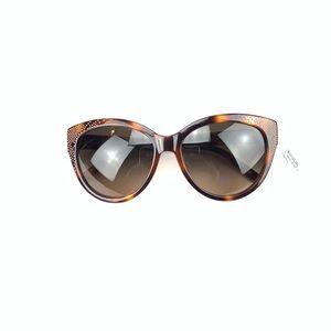 eab0adbf665 Chloe Tortoise Gold Studded Sun Glasses